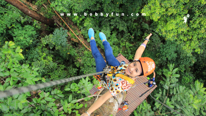 Discount on Zipline and hiking for 2.5h